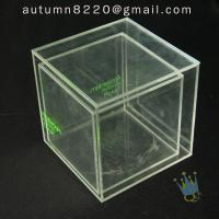 Buy cheap BO (49) clear acrylic case with dividers product