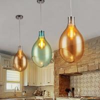 Buy cheap Art glass pendant lights fixtures for indoor home Dining room Kitchen (WH-GP-05) from wholesalers