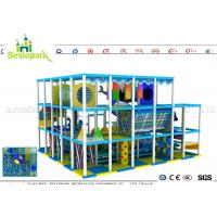 Buy cheap Indoor Soft Baby Play Centre , Custom Made Indoor Jungle Gym For Toddlers from wholesalers