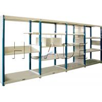 Buy cheap Medium Duty Long Span Shelving Boltless Storage Rack For Boxes / Cartons / Bins Storage from wholesalers