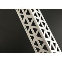 Buy cheap Plastic Render Vinyl Corner Bead , Outside PVC Drywall Plasterboard Edge Bead from wholesalers
