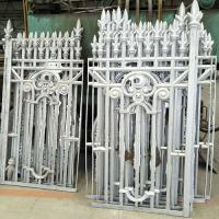Buy cheap Aluminum Casting Fence, CAST ALUMINUM FENCE, Aluminum Fence Casting, Garden Fence Casting Foundry, Park Fence Casting from wholesalers