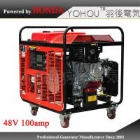 Buy cheap Small portable dc generator 48 volt gasoline generator for base station from wholesalers