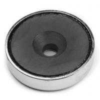 Buy cheap Ferrite Magnet Pot with Countersunk Hole from wholesalers