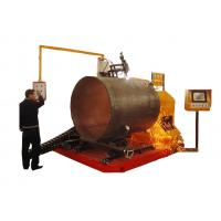 Buy cheap Big Diameter Portable CNC Profile Cutting Machine 300-1250mm Pipe OD from wholesalers