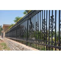 Buy cheap 2400mm (W)*1800mm (H) home & garden  decorative steel fence/ iron fence/ fence from wholesalers
