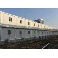 Buy cheap Temporary Custom Container House Environment Friendly Aluminum Frame Door from wholesalers