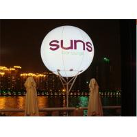 Buy cheap Shining Inflatable Advertising Balloons / Popular LED inflatable balloon for Decoration from wholesalers