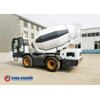 Buy cheap 3.5m3 Capacity Self Loading Cement Mixer , Diesel Self Loading Concrete Mixer Machine from wholesalers