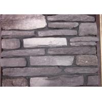 Multi - Shape Concrete Brick Veneer , Artificial Faux Stone For Outside Of House