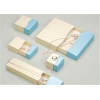 Buy cheap Custom Made Jewelry Boxes Case , Fancy Recycled Small Cardboard Gift Boxes from wholesalers