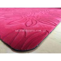 Buy cheap Contemporary Excellent Flexibility Cool Pink Yoga Mats With Printing / Stamping Logo from wholesalers