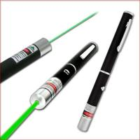 Buy cheap green laser pointer pen 100mw 5 in 1, 5 different designs, laser pointer from wholesalers