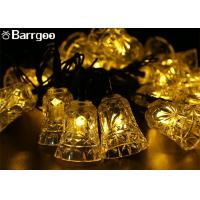 Buy cheap Holiday 6M Bell Solar LED Christmas Lights 30 LED Waterproof For Outdoor Garden from wholesalers
