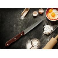 Buy cheap Pointed Tip Serrated Knife Set Bakelite Handle ODM / OEM Cooperate Mode from wholesalers