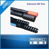 Buy cheap Round / Hex Drill Bit Extension Rod , Rock Drill Rods For Blasting Hole from wholesalers