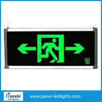 Buy cheap 2 X 8w Led Emergency Exit Signs , Led Emergency Exit Lights With Battery Backup from wholesalers
