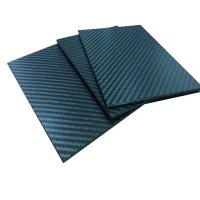 Buy cheap Contruction Parts Prepreg Carbon Fiber Sheets Fatigue Resistance Light Weight from wholesalers