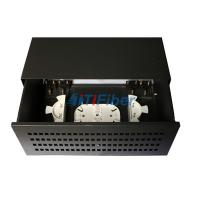 Buy cheap 72 / 96 Core Black Box Fiber Optic Patch Panel With Single Mode Pigtail from wholesalers