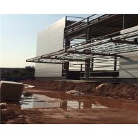 Buy cheap Custom Prefabricated Structural Steel Plant Welding Heavy With Wall Cladding Panel from Wholesalers
