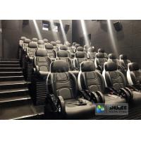 Buy cheap Unique 5D Cinema Simulator With Leather Seats And Low Noise Cylinder from wholesalers