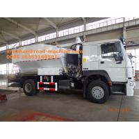 Buy cheap Sinotruk HOWO7 8T Site Mixed Granular ANFO Explosive Truck BCLH / BCRH / BCZH Blue from wholesalers