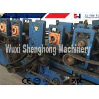 Buy cheap Automatic Purlin Roll Forming Machine , C / Z Profile Roll Forming Line from wholesalers