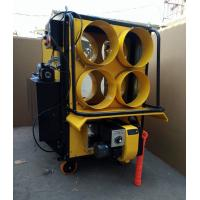 Buy cheap Yellow 4 Outlet Waste Oil Burning Heater Stainless Steel Combustion Chamber product