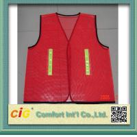 Buy cheap Red / Green Road Security Reflective Safety Jacket warning vest Road Maintenance Worker from wholesalers