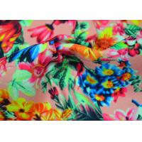 Buy cheap Twill Polyester Fabric / Patterned Printed Polyester With Heat Transfer from wholesalers