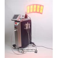 Buy cheap PDT LED Light Therapy Machine with BIO Bipoalr Hexpolar Microcurrent Oxygen Jetpeel product