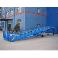 Buy cheap Adjustable Warehouse Mobile Loading Ramp 8T 14 ton For Container Loading & Unloading from wholesalers