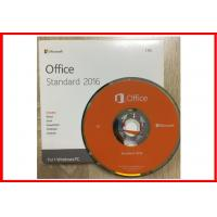 Buy cheap Genuine Microsoft Office 2016 Professional Retailbox DVD + Key card product
