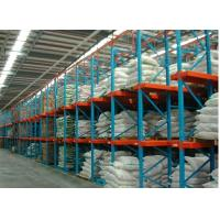 Buy cheap heavy-duty racks single / double side bracket Drive in racking customized 10M for Food industry from wholesalers
