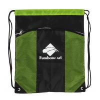Buy cheap Foldable Backpack Drawstring Bag Personalized Cinch Bags For Packing from wholesalers