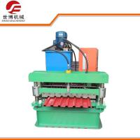 Buy cheap Industrial PLC Controlled Metal Sheet Rolling Machine Includes Manual Decoiler from wholesalers