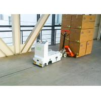 Buy cheap DC24V Unidirectional Tugger AGV Auto Guided Vehicle Automatical Communicate from wholesalers
