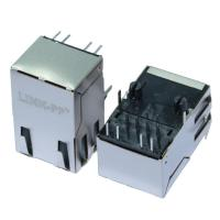 Buy cheap ARJ11D-MASG-B-A-EMU2 10/100 Magnetic Rj45 Ethernet Jack Tab up with Shielded from wholesalers