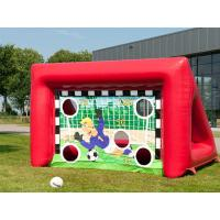 Buy cheap Outdoor Inflatable Sports Games Portable Kids Inflatable Football Soccer Goal from wholesalers