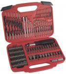 Buy cheap 117pcs Combination Screwdriver Bit Set with HSS Twist Drills / Mansary Drills / Wood Drills from wholesalers