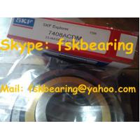 Precision High Speed  SKF Angular Contact Ball Bearing 7408 ACM , P5 / P4 for sale