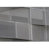 Buy cheap Corrosion Resistance Decorative Perforated Metal , Decorative Sheet Metal Panels Kinetic Facade Waves from wholesalers