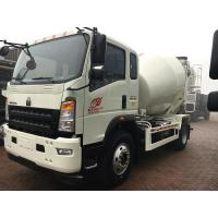 Buy cheap 4×2 3 Cube Meter Light Concrete Mixer Truck Curb Weight 4.5 Tons Weather Resistance from wholesalers