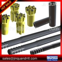 Buy cheap VCR360 drill spare parts - T45 Shank adaptors striking bar 450mm ,Couplings,Steel rod from wholesalers