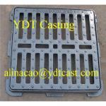 Buy cheap Ductile Iron driveway drainage grating; Black bitumenous; Ductile iron casting from wholesalers