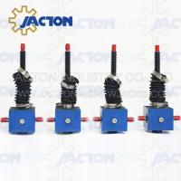 Buy cheap Durable Lifting JTC25 25kn Manual or Auto Custom Stroke Lowering Screw Jack from wholesalers