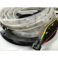 Buy cheap Flex RGB Led Decorative Strip Lights Dimmable 60led/m Build in IC Addressable from wholesalers