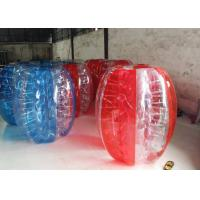 Buy cheap Football Outdoor Inflatable Toys Glass Bumper Soccer Body Zorb Ball from wholesalers
