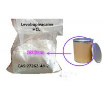 Buy cheap Topical Pain Relief Levobupivacaine Hydrochloride CAS 27262-48-2 Levobupivacaine HCl from wholesalers