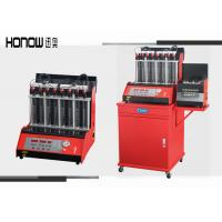 Buy cheap Car Automatic Ultrasonic Fuel Injector Cleaning Machine 8 Cylinders 250W Power from wholesalers